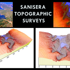 Digital elevation model of Sanisera