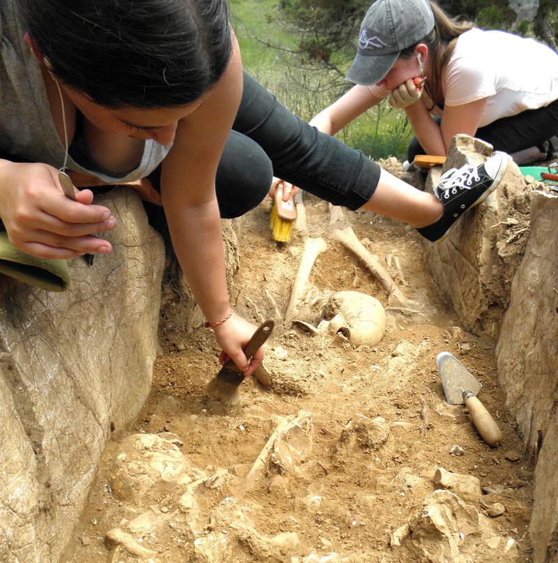 orensic anthropology field school