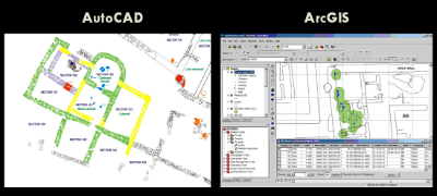 Applied autocad Arcgis