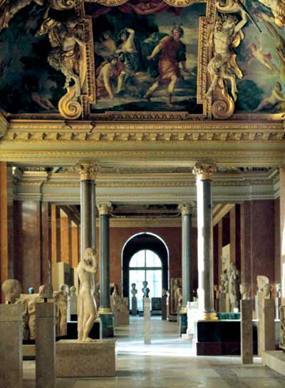 Gallery of the Louvre Museum