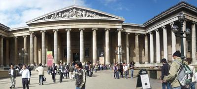 Main facade of British Museum