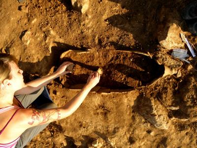 anak arkeolog
