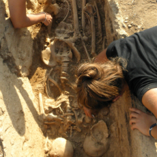 Students of the Sanisera Field School