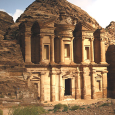 The Monastery (Ad Deir) is one the largest monuments in Petra.