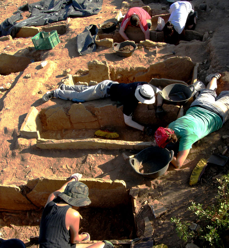 Archaeological Digs in Greece The Archaeological Dig Site of