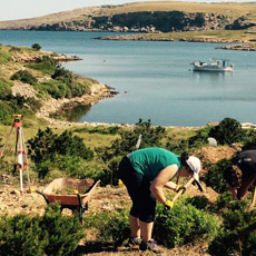 North coast of Menorca: digging in the Roman City of Sanisera