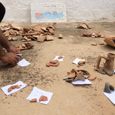 Roman pottery and artifacts found in Sanisera