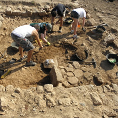 The archaeological dig of Sanisera