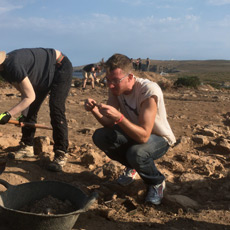 Digging in the Roman City of Sanisera