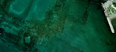 Pompeii. Roman underwater harbour