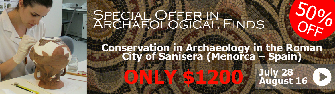Conservation Offer in Archaeological Finds